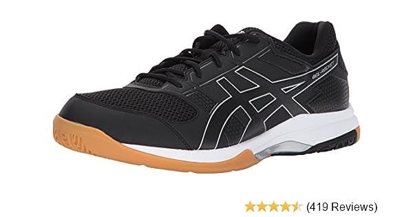 separation shoes 52e7d 39e80 Amazon.com  ASICS Mens Gel-Rocket 8 Volleyball Shoe  Tennis  Racquet  Sports
