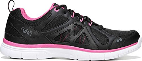 Ryka Black Pink Women's Grey M Pink Cross Black Divine Athena US Frost Training B aaqBr