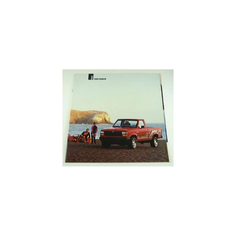 1991 91 Ford RANGER Pickup Truck BROCHURE XLT Sport