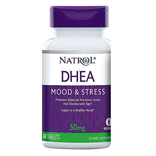 Natrol DHEA 50mg Tablets Pack product image