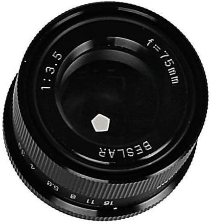 Beseler 75mm f//3.5 Beslar Enlarging Lens for Medium Format Negatives.