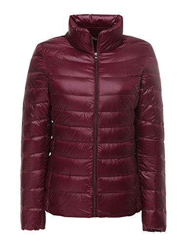 CHERRY CHICK Women's Ultralight Down Jacket(M, - Womens Jacket Cherry