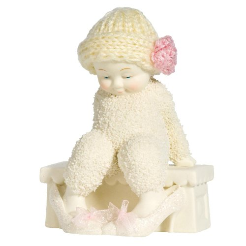 - Department 56 Snowbabies Classics Your Big Girl Shoes Figurines