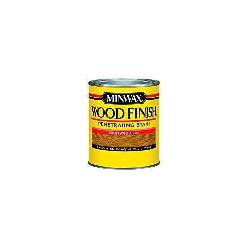 Fruitwood Minwax Stain (Minwax 224104444  Wood Finish Penetrating Interior Wood Stain, 1/2 pint, Fruitwood)