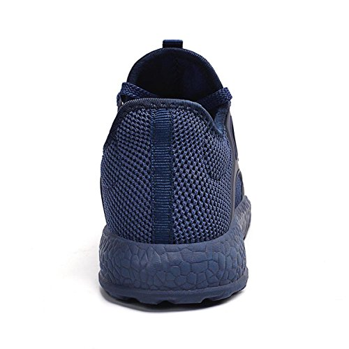 Trainers Comfy Sport Walking Blue Lightweight Womens Athletic Qansi Shoes O71wqPq