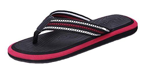Zapatillas de color negro para hombres