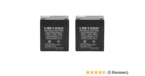 CP 1250-12 Pack Brand Product VICI Battery VB5-12 12V 5AH UPS Battery Replaces Vision CP1250