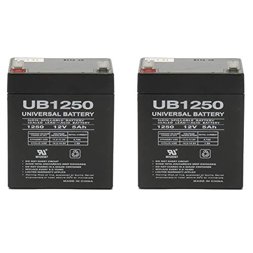 Universal Power Group 12V 5Ah Replacement for Chamberlain 41A6357-1 Garage Door 4228-2 (Best Ace Garage Door Openers)