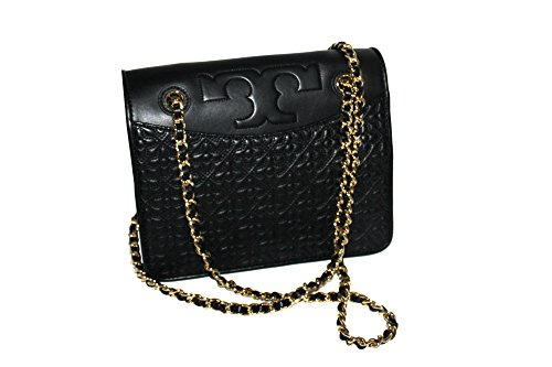 Bryant Bag 46181 Handbag Convertible Shoulder Burch Crossbody Quilted Black Tory PxwqFYH56