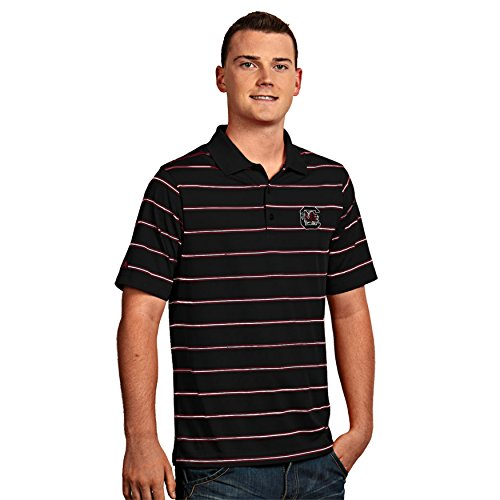 Shirt Striped Polo Antigua - University of South Carolina Men's Deluxe Polo Shirt (X-Large)