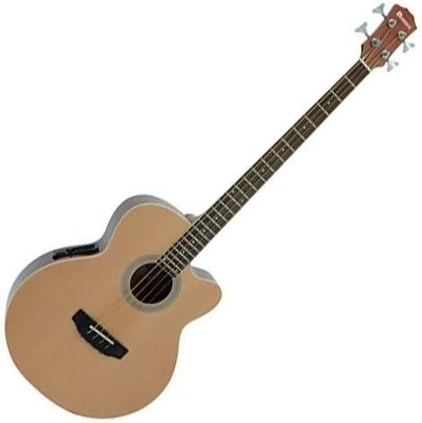 natur DIMAVERY ST-303 E-Gitarre