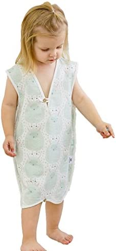 Eco Friendly shieldgreen EMF//RF Shielding Baby Sleeping Vest-Mint