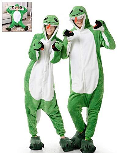 Adult Onesie Snake Pajamas Animal Halloween Costume One Piece Cosplay for Women Men ()