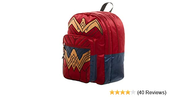9e727a645c Amazon.com  Dawn of Justice Wonder Woman Backpack 18 x 19in by Poster  Revolution  Toys   Games