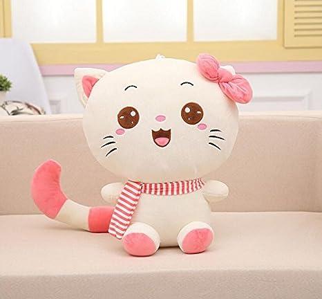 VOCAKA Juguete para Niños Pequeños Muñeca Suave Juguete del bebé del Gato de Peluche del Animal
