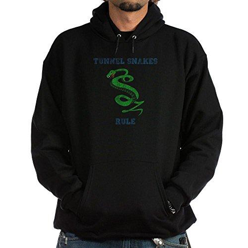 CafePress Tunnel Snakes Rule! Hoodie (dark) Pullover Hoodie,