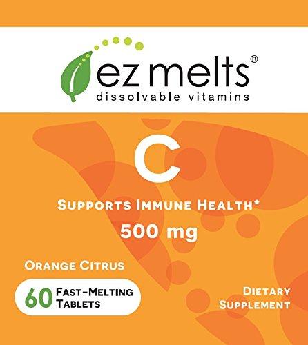 EZ for Immune Support, Sublingual Vegan, Zero Sugar, Natural Flavor, 60 Fast