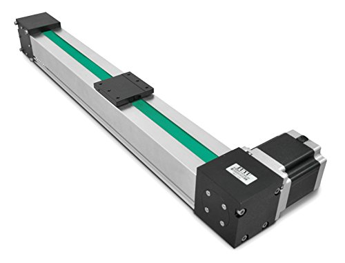 FUYU High Speed Max 3m/s Belt Drive CNC Linear Guide Slide Rail Linear Motion Actuator Stage Router Parts Motorized Nema34 Stepper Motor[500mm ()