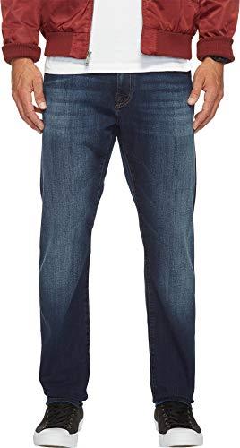 Mavi Jeans Men's Jake Regular Rise Slim in Dark Brushed Will