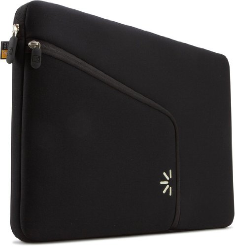 "Case Logic Sleeve for 13"" Apple® MacBook® Pro Black PAS-213BLA"