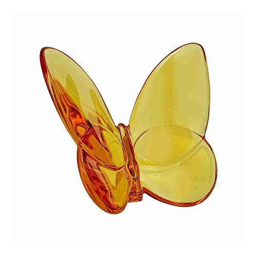 Baccarat, Lucky Butterfly, Topaz / Amber