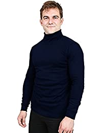 Turtleneck Shirts For Men - Long Sleeves - Tailored Comfort Fit - by Utopia Wear