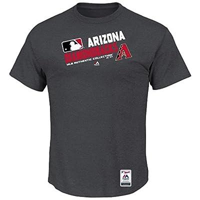 MLB Men's Authentic Collection Team Choice T-Shirt (Xlarge, Arizona Diamondbacks)