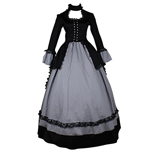 CosplayDiy Women's Elegant Victorian Gowns Fany Dress Costume XL -