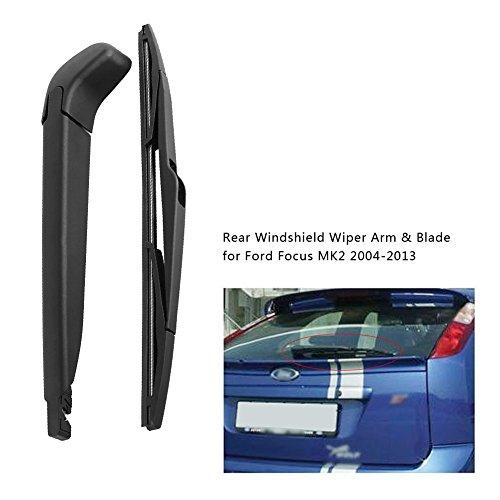 Qiilu Limpiaparabrisas trasero parabrisas del coche: Amazon.es: Electrónica
