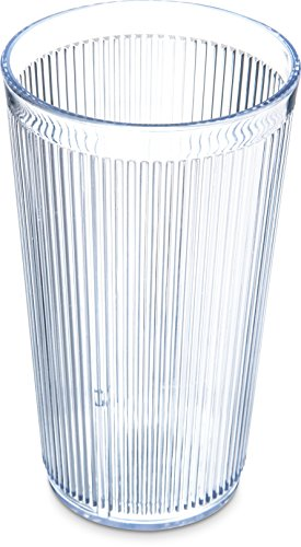 Carlisle 402007 Crystalon Stackable SAN Tumbler, 20.7 oz. Capacity, Clear (Pack of (Carlisle Food Service Tumbler)