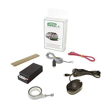 Sensor De Aparcamiento Electromagnético Invisible Trasero EPS-DUAL 3.0 Sin Taladrar el Paragolpes, Kit Universal, Proxel Original, Versión 2019: Amazon.es: ...