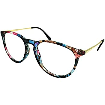 a4d82e3ca75 Southern Seas Mens Womens Oversize Readers +3.25 Reading Glasses Pink  Floral Frame Spectacles Eyewear
