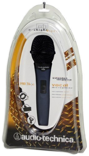 Brand New Audio Technica Mb3k/c Hypercardioid Dynamic Vocal Microphone with 15' Cable Built with a Neodynium Magnet Structure to Provide Improved Output and Response