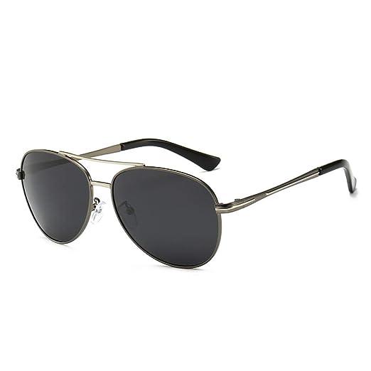 Yangjing-hl Gafas de Sol polarizadas para Hombres Espejo de ...
