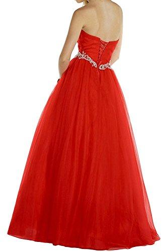 Abendkleider Abschlussballkleider Linie A Lilac Rot La Elegant Prinzess Abiballkleider Ballkleider Herzausschnitt mia Lang Braut znq8pY0