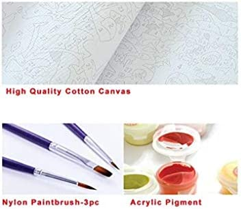 Peinture à l'huile Bricolage par numéros Décor de gâteau délicieux-Frameless-(40x50cm)