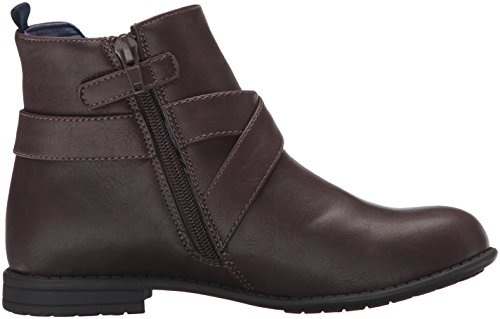 Tommy Hilfiger Kids Andrea Harness Boot (Toddler/Little Kid/Big Kid), Brown, 11 M US Little Kid