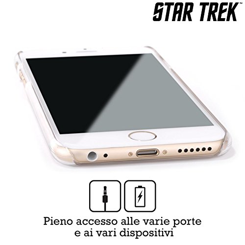 Officiel Star Trek Costume Spatial Embossed Spock Étui Coque D'Arrière Rigide Pour Apple iPhone 4 / 4S