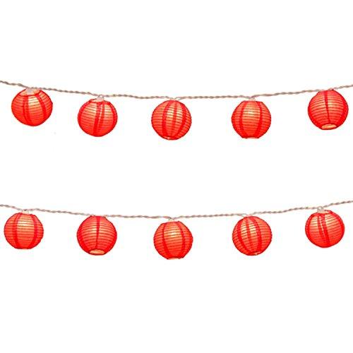 Traditional Outdoor Christmas Lantern Lights