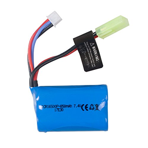 IMDEN RC Cars Replacement Battery, 7.4V 850mAh Rechargeable Battery