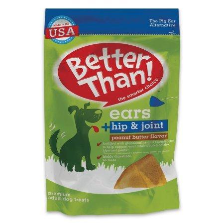 Better Than! Ears + Hip & Joint Peanut Butter Flavor (9-EARS) (NET WT 7.78 OZ) ()