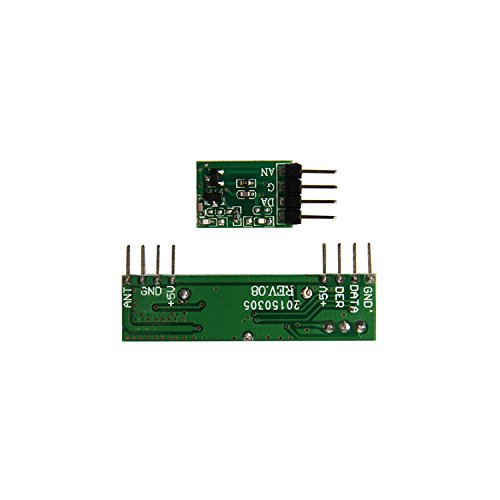 RioRand(TM) 433MHz Superheterodyne RF Link transmitter and
