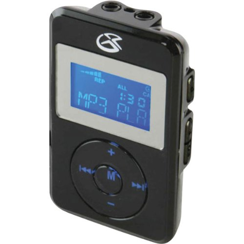 GPX Digital Audio Player Black product image