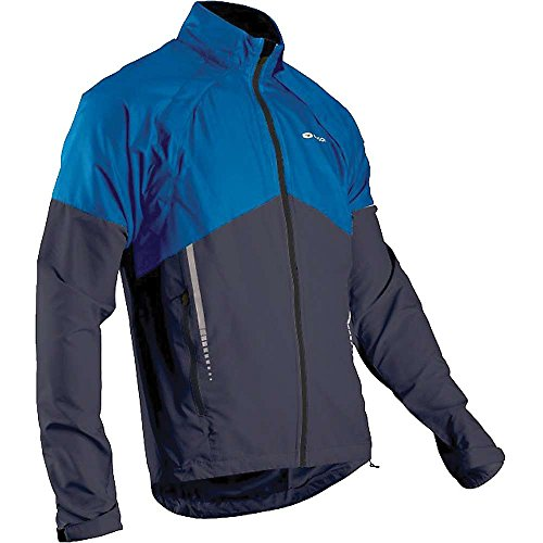 (Sugoi Men's Versa Jacket,  True Blue/Coal Blue, X-Large)