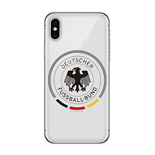 Bap Store Soccer National Team Silicone Protective Transparent Thin Case Compatible with iPhone XR (07)