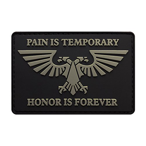 Imperial Aquila Honor is Forever Morale Patch (3.0 X 2.0-3D-PVC Rubber)