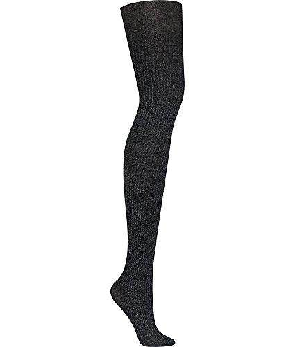 DKNY Women's Rib Tight Control Top, Black, Medium ()