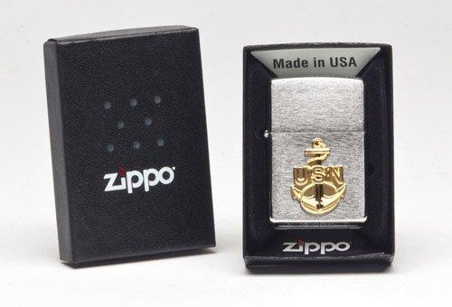 Zippo Navy Anchor