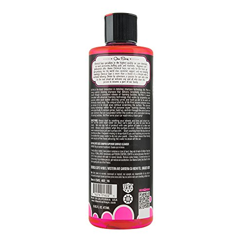 chemical guys cws 402 16 mr pink super suds car wash soap. Black Bedroom Furniture Sets. Home Design Ideas