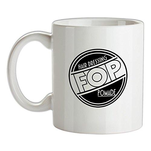 FOP Hair dressing Pomade - 10oz Ceramic Mug